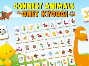 Онлайн игра Коннект с Животными: Куодай (Connect Animals: Onet Kyodai) (изображение №1)