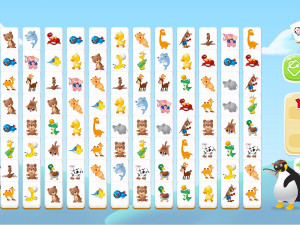 Онлайн игра Коннект с Животными: Куодай (Connect Animals: Onet Kyodai) (изображение №3)
