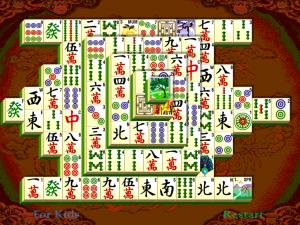 Онлайн игра Маджонг Шанхайская Династия (Mahjong Shanghai Dynasty) (изображение №2)