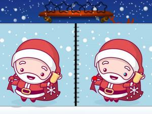 Онлайн игра Найди Отличия: Рождество (Spot the Difference Christmas) (изображение №2)