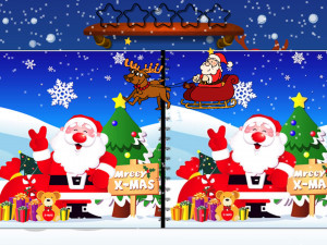 Онлайн игра Найди Отличия: Рождество (Spot the Difference Christmas) (изображение №4)