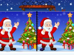 Онлайн игра Найди Отличия: Рождество (Spot the Difference Christmas) (изображение №5)