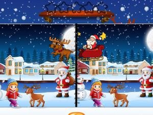 Онлайн игра Найди Отличия: Рождество (Spot the Difference Christmas) (изображение №6)