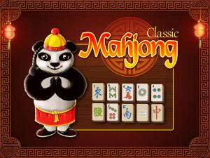 Классический Маджонг с Пандой