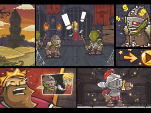 Онлайн игра Доблестный Рыцарь: Спасение Принцессы (Valiant Knight: Save the Princess) (изображение №2)