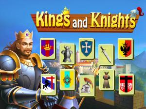 Онлайн игра Маджонг: Короли и Рыцари (Mahjong: Kings and Knights) (изображение №1)