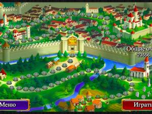 Онлайн игра Маджонг: Короли и Рыцари (Mahjong: Kings and Knights) (изображение №6)