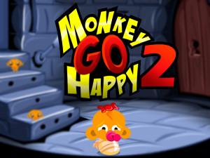 Онлайн игра Счастливая Обезьянка 2 (Monkey GO Happy 2) (изображение №1)
