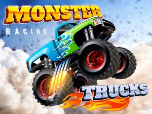 Онлайн игра Гонки на Грузовиках (Racing Monster Trucks) (изображение №1)
