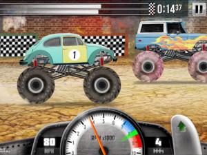 Онлайн игра Гонки на Грузовиках (Racing Monster Trucks) (изображение №5)