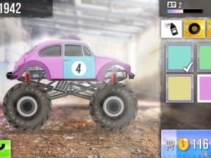 Онлайн игра Гонки на Грузовиках (Racing Monster Trucks) (изображение №10)