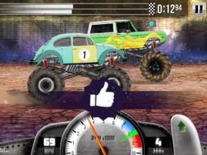 Онлайн игра Гонки на Грузовиках (Racing Monster Trucks) (изображение №11)