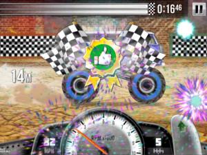 Онлайн игра Гонки на Грузовиках (Racing Monster Trucks) (изображение №4)