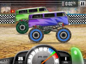 Онлайн игра Гонки на Грузовиках (Racing Monster Trucks) (изображение №14)