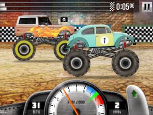 Онлайн игра Гонки на Грузовиках (Racing Monster Trucks) (изображение №2)