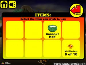 Онлайн игра Счастливая Обезьянка 4 (Monkey GO Happy 4) (изображение №3)