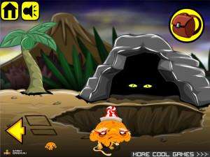Онлайн игра Счастливая Обезьянка 4 (Monkey GO Happy 4) (изображение №5)