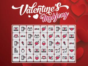 Онлайн игра Мадждонг Валентина (Mahjong Valentine's) (изображение №1)