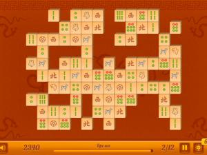 Онлайн игра Маджонг Коннект: 12 уровней (Mahjong Connect New) (изображение №3)