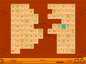 Онлайн игра Маджонг Коннект: 12 уровней (Mahjong Connect New) (изображение №6)