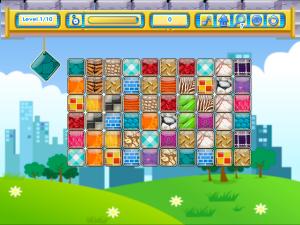 Онлайн игра Маджонг Коннект: Соедини парные узоры (Patterns Link) (изображение №2)