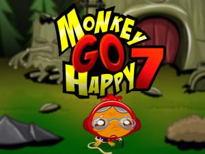 Онлайн игра Счастливая Обезьянка 7 (Monkey GO Happy 7) (изображение №1)