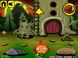 Онлайн игра Счастливая Обезьянка 7 (Monkey GO Happy 7) (изображение №5)