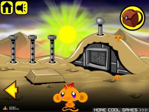 Онлайн игра Счастливая Обезьянка 8 (Monkey GO Happy 8) (изображение №6)