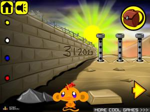 Онлайн игра Счастливая Обезьянка 8 (Monkey GO Happy 8) (изображение №4)