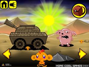 Онлайн игра Счастливая Обезьянка 8 (Monkey GO Happy 8) (изображение №2)