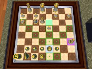 Онлайн игра Шахматы 3D (3D Chess) (изображение №6)