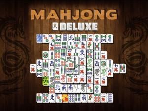 Онлайн игра Маджонг Делюкс (Mahjong Deluxe) (изображение №1)