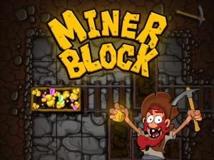 Онлайн игра Золотоискатель: Золотой рудник (Miner Block) (изображение №1)