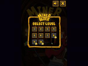 Онлайн игра Золотоискатель: Золотой рудник (Miner Block) (изображение №7)