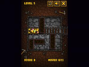 Онлайн игра Золотоискатель: Золотой рудник (Miner Block) (изображение №2)