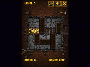 Онлайн игра Золотоискатель: Золотой рудник (Miner Block) (изображение №3)
