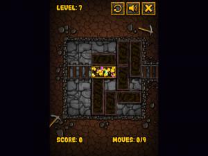 Онлайн игра Золотоискатель: Золотой рудник (Miner Block) (изображение №4)