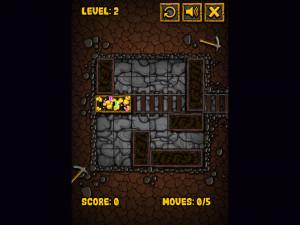 Онлайн игра Золотоискатель: Золотой рудник (Miner Block) (изображение №8)