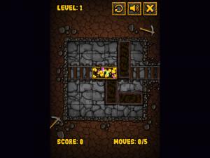 Онлайн игра Золотоискатель: Золотой рудник (Miner Block) (изображение №9)