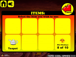 Онлайн игра Счастливая Обезьянка 9 (Monkey GO Happy 9) (изображение №4)