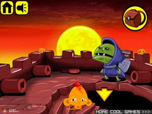 Онлайн игра Счастливая Обезьянка 9 (Monkey GO Happy 9) (изображение №2)