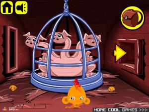 Онлайн игра Счастливая Обезьянка 9 (Monkey GO Happy 9) (изображение №5)