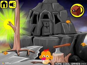 Онлайн игра Счастливая Обезьянка 10 (Monkey GO Happy 10) (изображение №2)