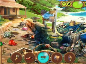 Онлайн игра Сокровища Таинственного Острова (Secret Island Treasure) (изображение №4)