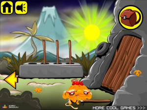 Онлайн игра Счастливая Обезьянка 11 (Monkey GO Happy 11) (изображение №4)