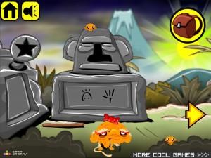 Онлайн игра Счастливая Обезьянка 11 (Monkey GO Happy 11) (изображение №2)