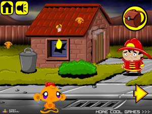 Онлайн игра Счастливая Обезьянка 12 (Monkey GO Happy 12) (изображение №2)
