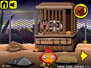Онлайн игра Счастливая Обезьянка 14 (Monkey GO Happy 14) (изображение №2)
