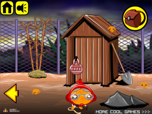 Онлайн игра Счастливая Обезьянка 14 (Monkey GO Happy 14) (изображение №4)