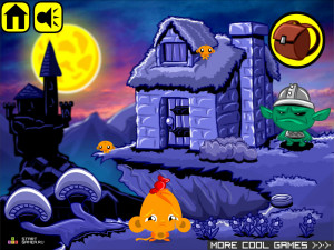 Онлайн игра Счастливая Обезьянка 16 (Monkey GO Happy 16) (изображение №2)